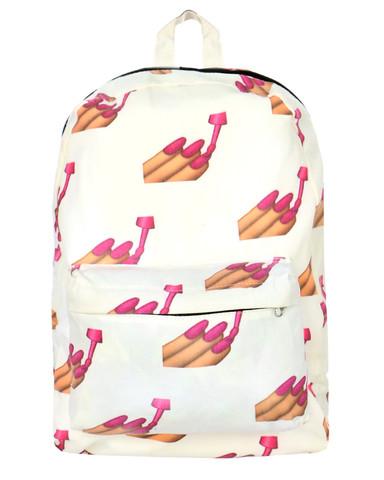 Mighty sassy nailz backpack at shop jeen