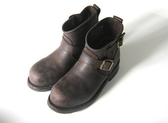 shoes boots brown leather boots brown boots simple(brand) winter boot cuffs brown shoes winter boots brown boot shoes timberlands