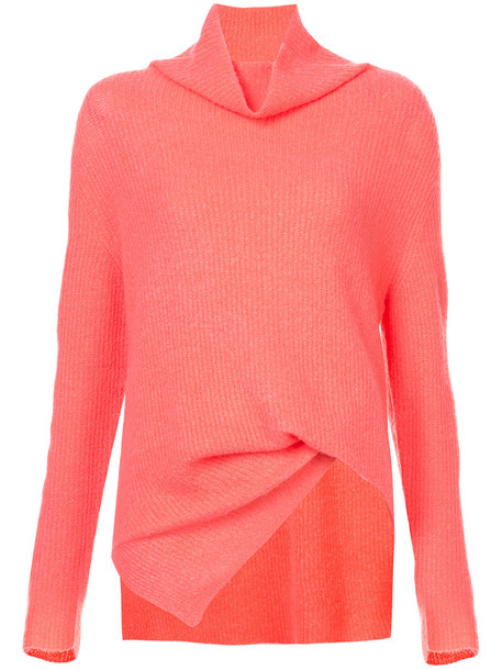 SIES MARJAN jumper women spandex purple pink sweater