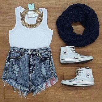 shorts jeans cut off shorts shoes jewels