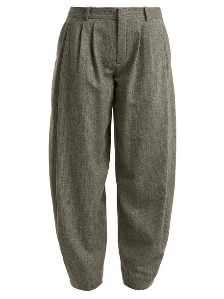 Chloe wool grey pants