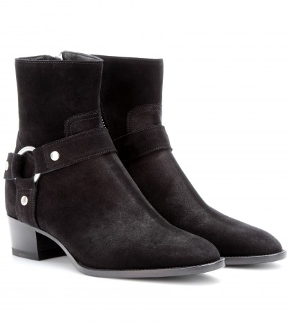 mytheresa.com -  Rock suede ankle boots - Luxury Fashion for Women / Designer clothing, shoes, bags