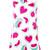 Love Moschino watermelon print dress, Women's, Size: 42, White, Cotton/Spandex/Elastane