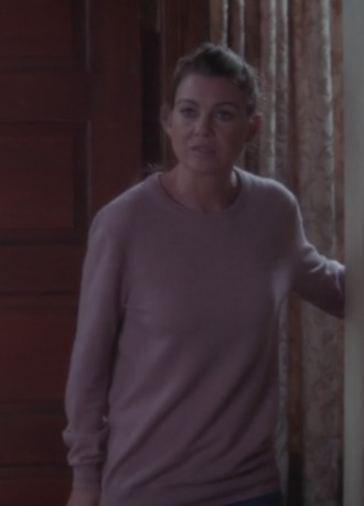 grey's anatomy ellen pompeo sweater