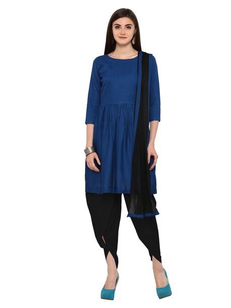 dress straight cut suit salwar kameez women clothing indian clothing ethnic wear
