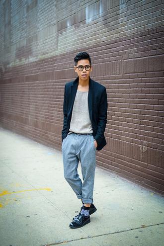 closet freaks blogger jacket menswear socks t-shirt hipster menswear
