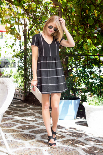 a piece of toast blogger dress shoes bag tank top shorts jewels