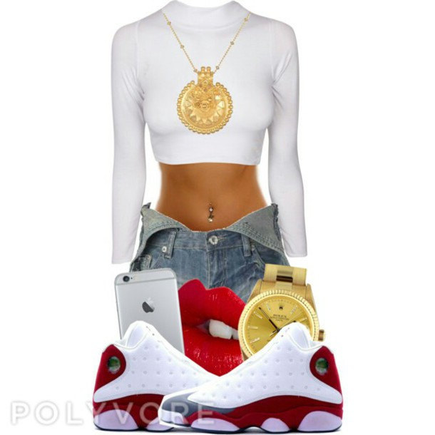 jumpsuit crop tops jordans