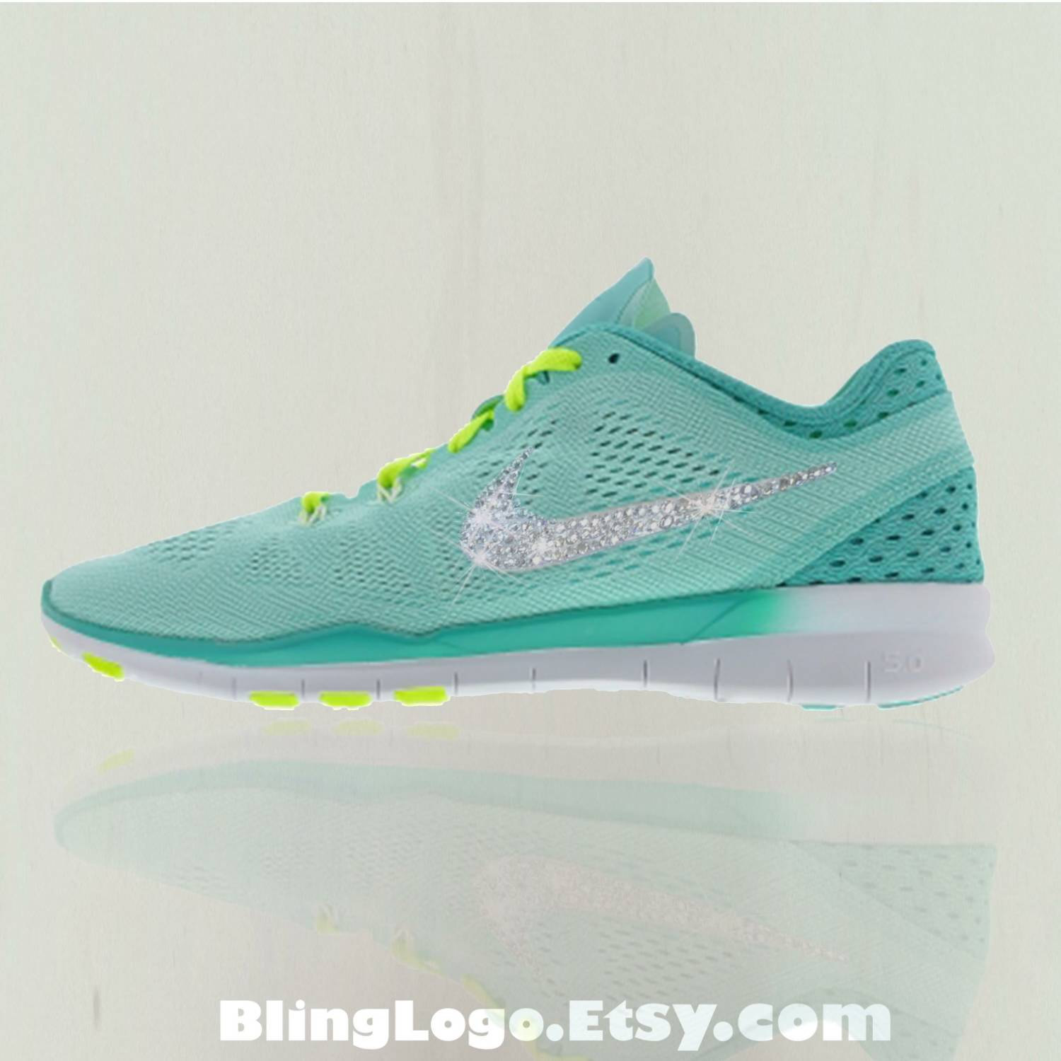 Nike Free 5.0 Tr Fit 5 Breathe Shoes With Swarovski Crysral ... 1f7242d65