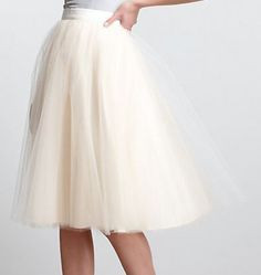 The gretta tulle skirt