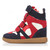 Velc Strap Wedge Hi-Tops | Outfit Made