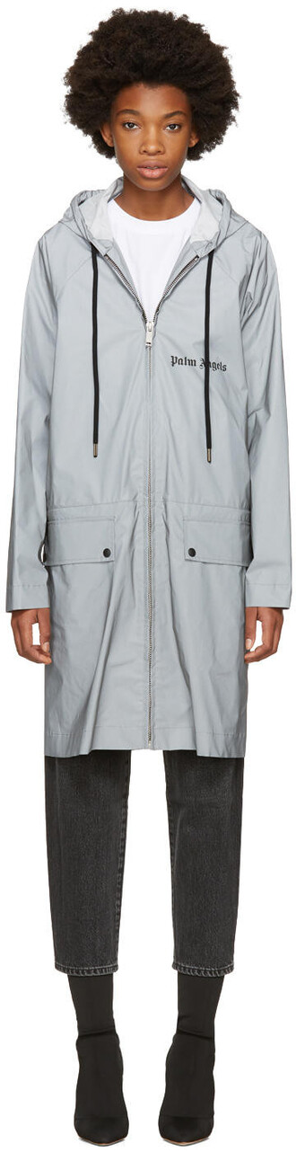 parka high grey coat