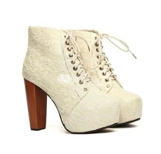 shoes korean fashion sweet bandage stylish chunky heels pumps high heels floral