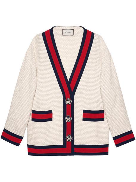 gucci jacket women nude cotton