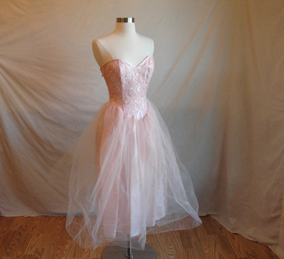 Vintage Dream Ballerina Dress by AlannaRK on Etsy