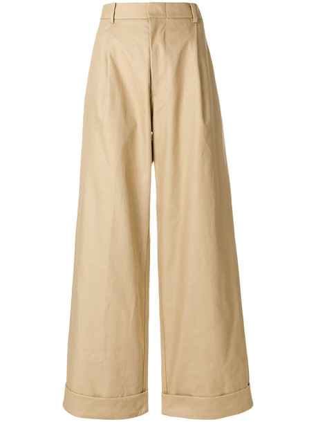 Sofie D'hoore women nude cotton pants