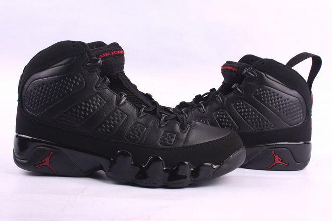Air Jordan 9 Mens Nike Basketball Sneakers - Black - $ 93.99 price sale