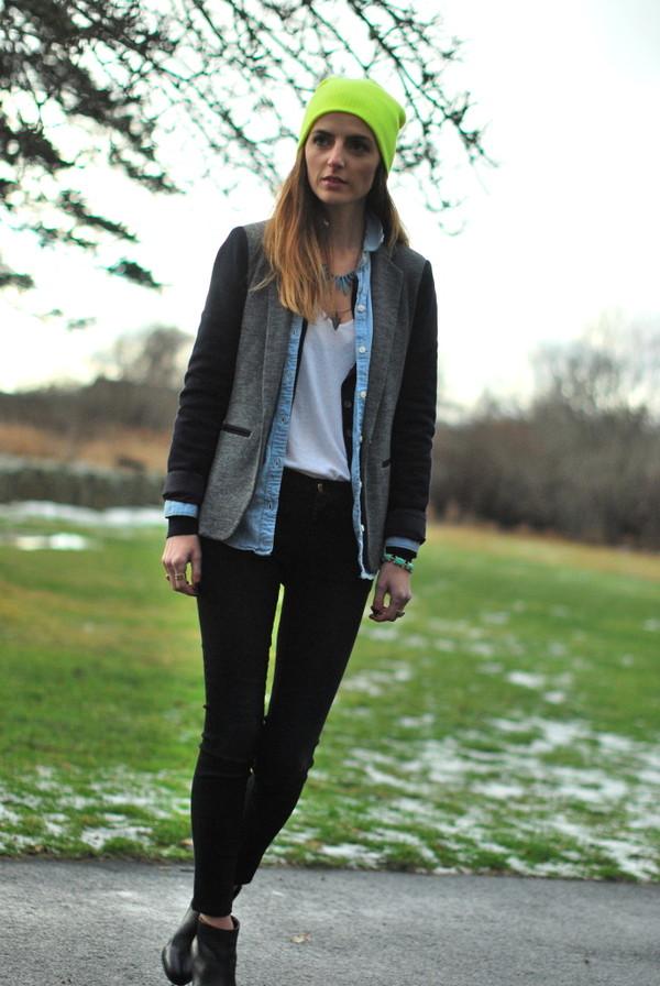 jess style rules hat jeans jacket shirt t-shirt shoes