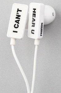 Amazon.com: test frends headphones the clip i can't hear u ear buds: electronics