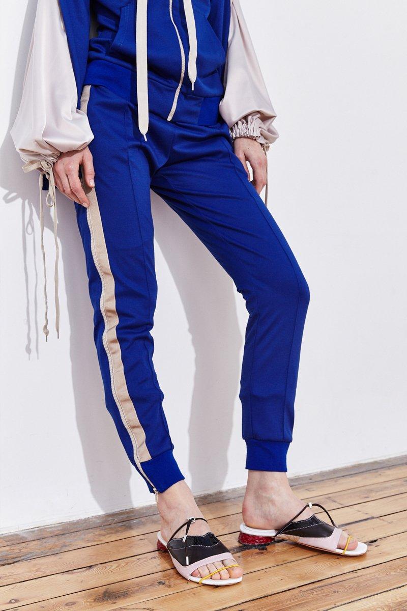 Image: double leg zip-up track pants | FYODOR GOLAN – Fyodor Golan