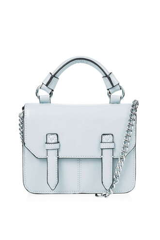 bag satchel small bag purse light blue satchel bag chain bag our favorite accessories 2015