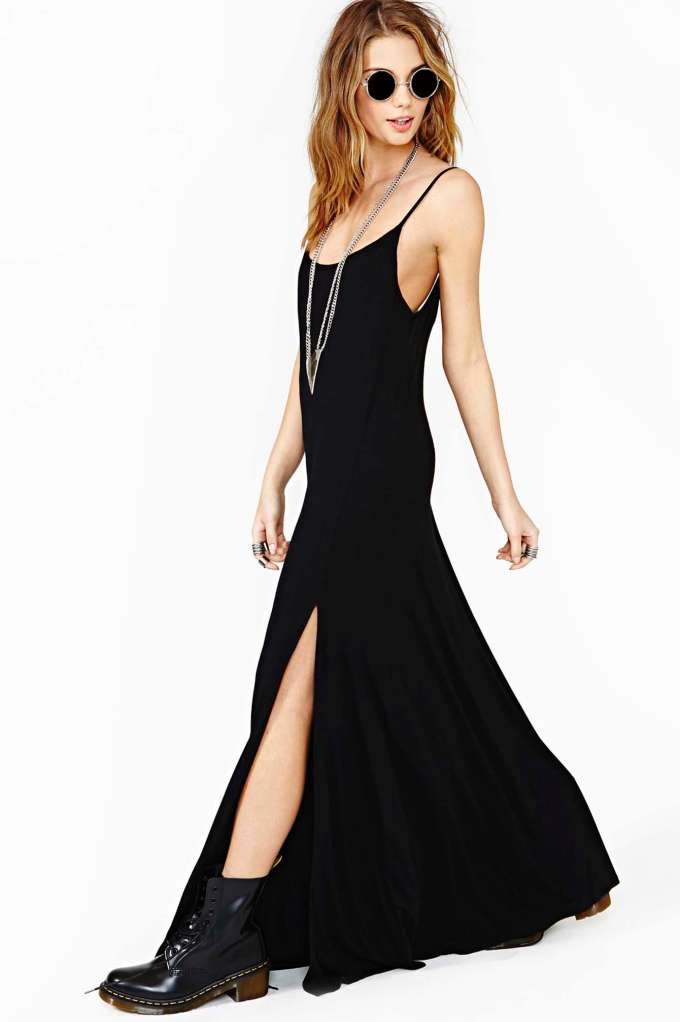 Nasty Gal Night Wanderer Maxi Dress | Shop Clothes at Nasty Gal