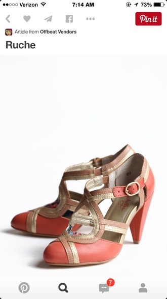 shoes coral shoes high heel sandals cute high heels cute sandals summer sandals