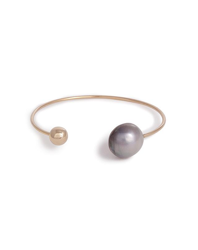 Sophie Bille Brahe - 14K Gold/Half Pearl D