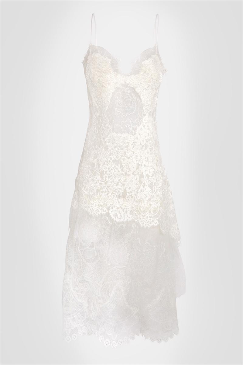 Lace slip dress - Ermanno Scervino