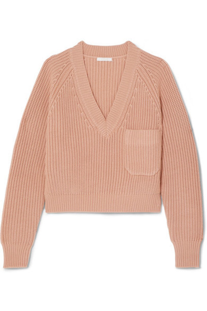 sweater wool sweater rose wool