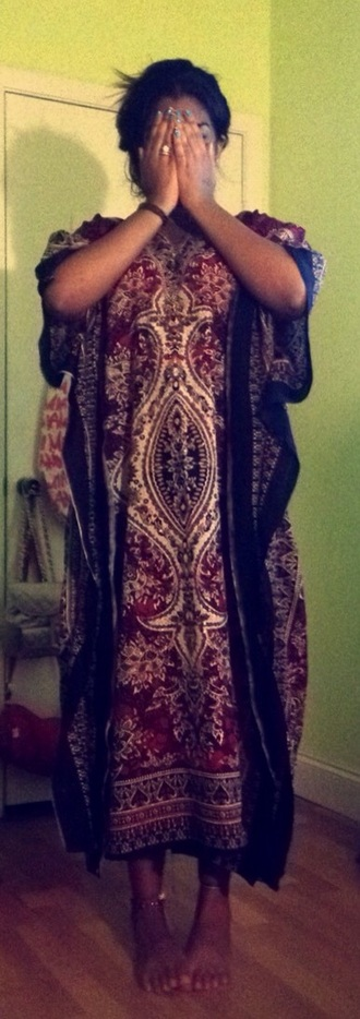 dress african american tribal pattern red dress african dress indian dress indian pajamas