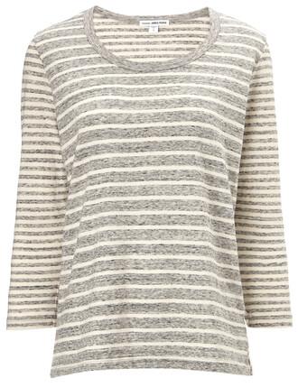 top cotton grey
