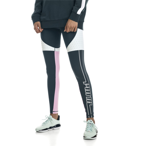 Cosmic Tight TZ | Ponderosa Pine-Fair Aqua | PUMA Leggings | PUMA United States