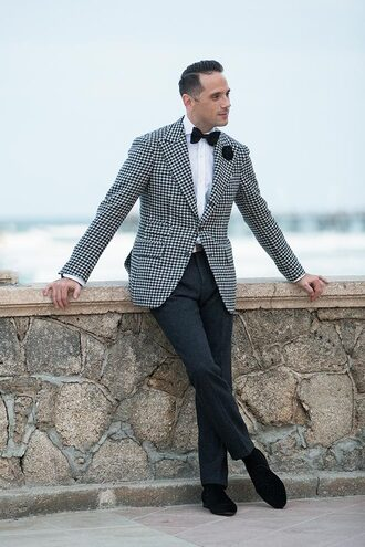 he spoke style blogger mens blazer formal event outfit