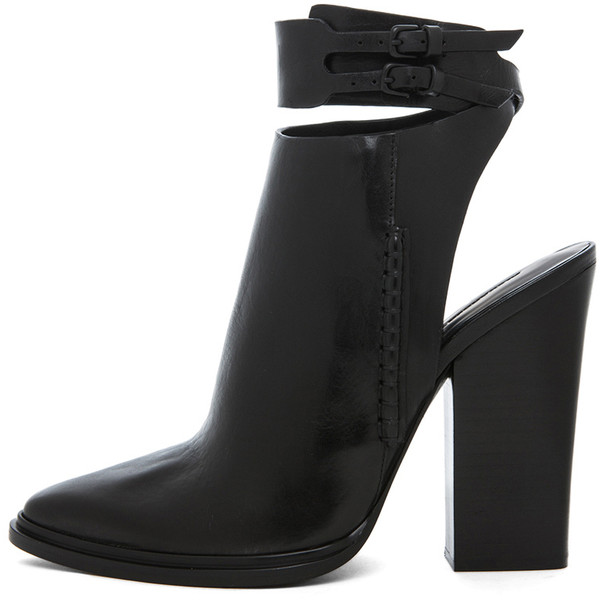 Alexander Wang Dasha Bootie in Black - Polyvore