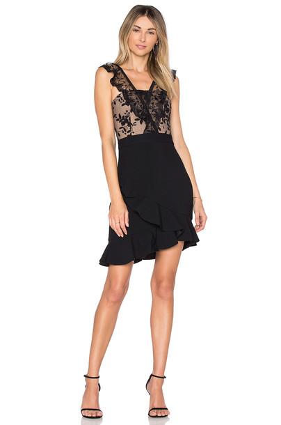 Three Floor dress mini dress mini black