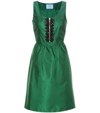 dress embellished dress embellished green