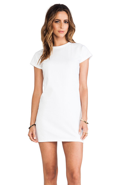 Elliott Label dress mini dress baseball mini white