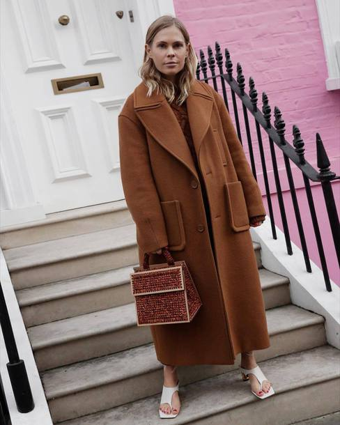 coat tumblr camel camel coat long coat camel long coat oversized oversized coat bag glitter bag