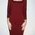 Z Spoke Zac Posen Long-Sleeve Square Dress / TheFashionMRKT
