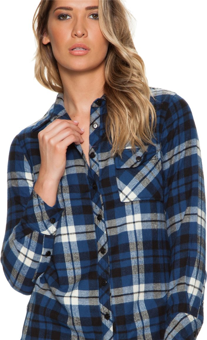 TOLANI EMMA PRINTED PLAID | Swell.com