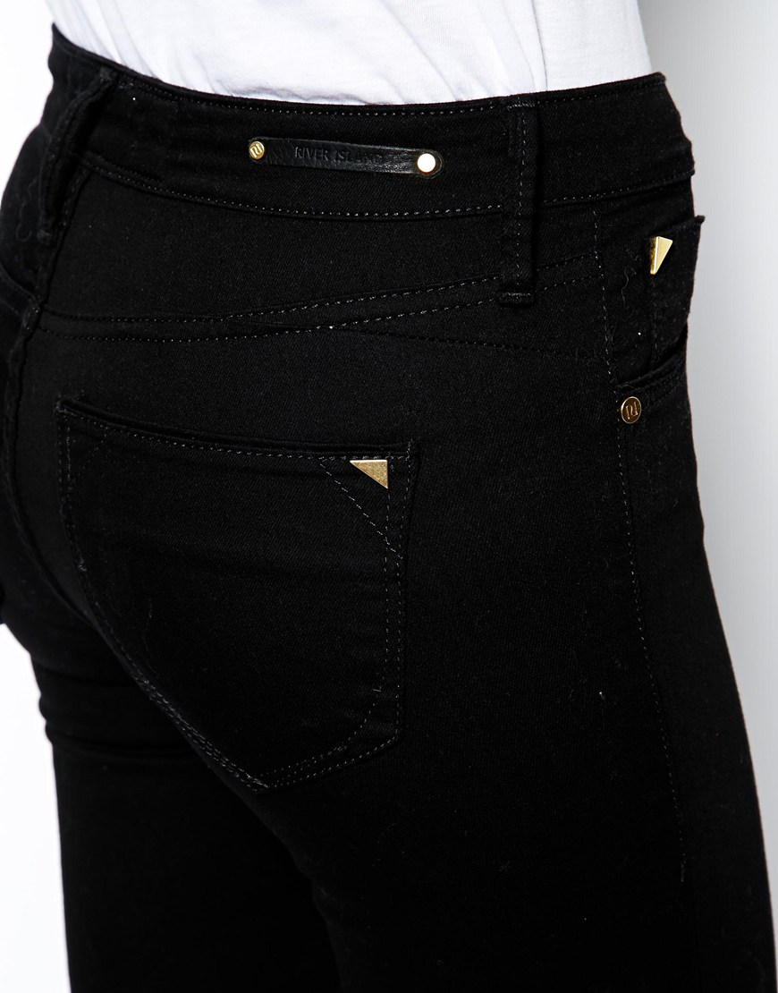 River Island Amelie Superskinny Jean at asos.com