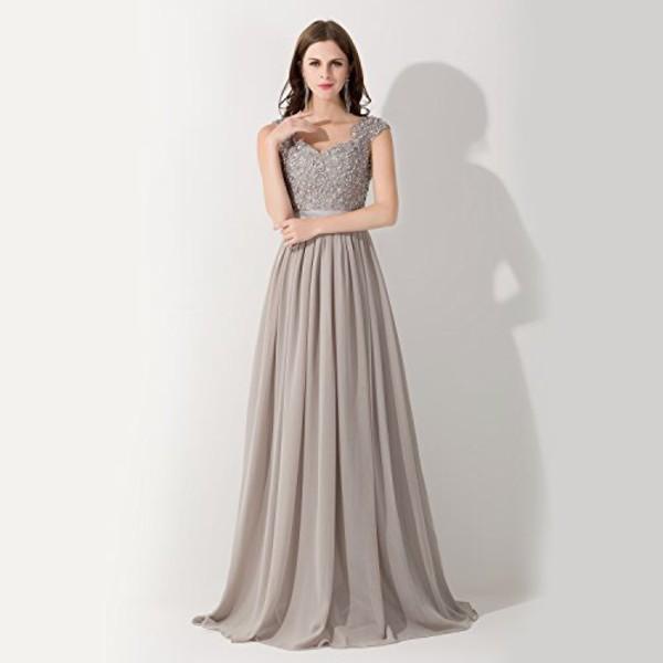 dress grey dress prom dress maxi dress