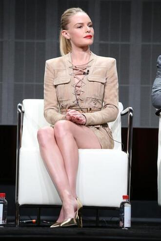 shoes pumps gold dress kate bosworth mini dress sude lace up