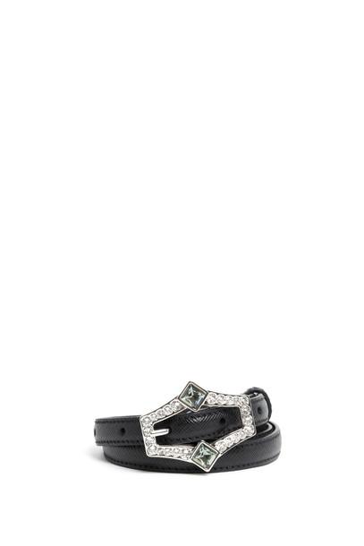 Prada belt black