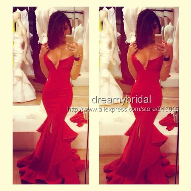 Aliexpress.com : Buy Popular designer Sexy mermaid White Sweetheart evening dress 2013 new arrival one shoulder Prom dresses transparent back Custom from Reliable evening party dress suppliers on Suzhou dreamybridal Co.,LTD