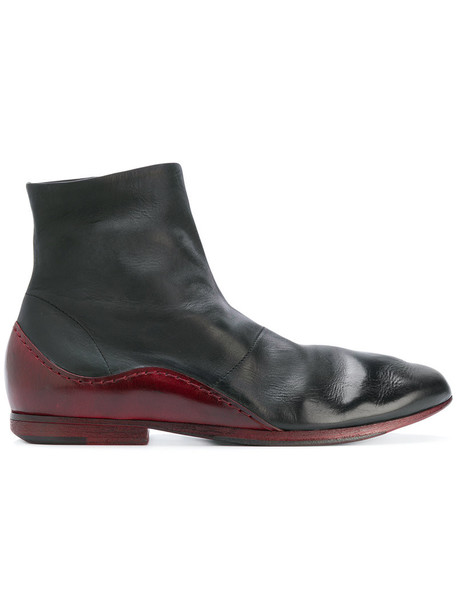 Marsèll women boots ankle boots leather black shoes