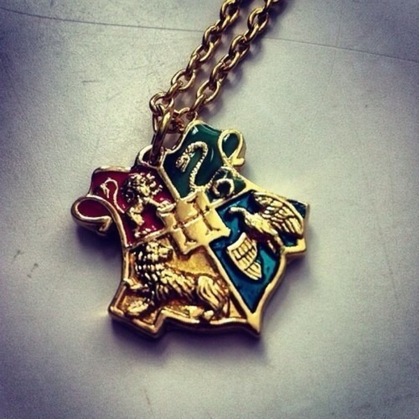 jewels necklace harry potter gold necklace