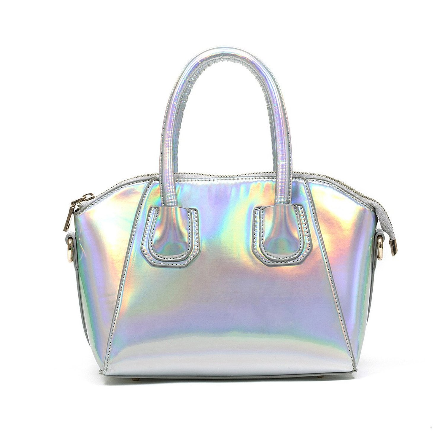 Zarapack Women's Pu Leather Hologram Handbag Purse Shoulder Ba: Handbags: Amazon.com