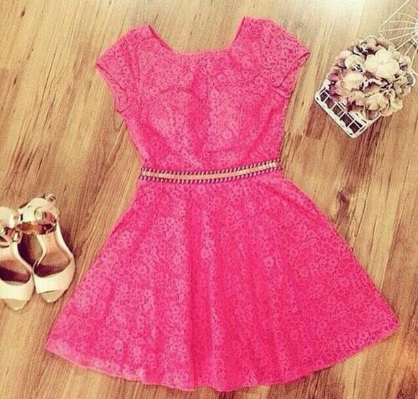 dress pink lace pink lace pink lace dress